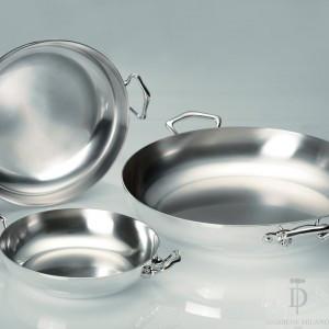 Tegame in argento