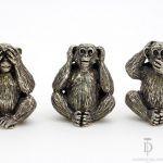 fermacarte scimmia
