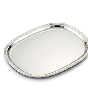 Semi-oval trays