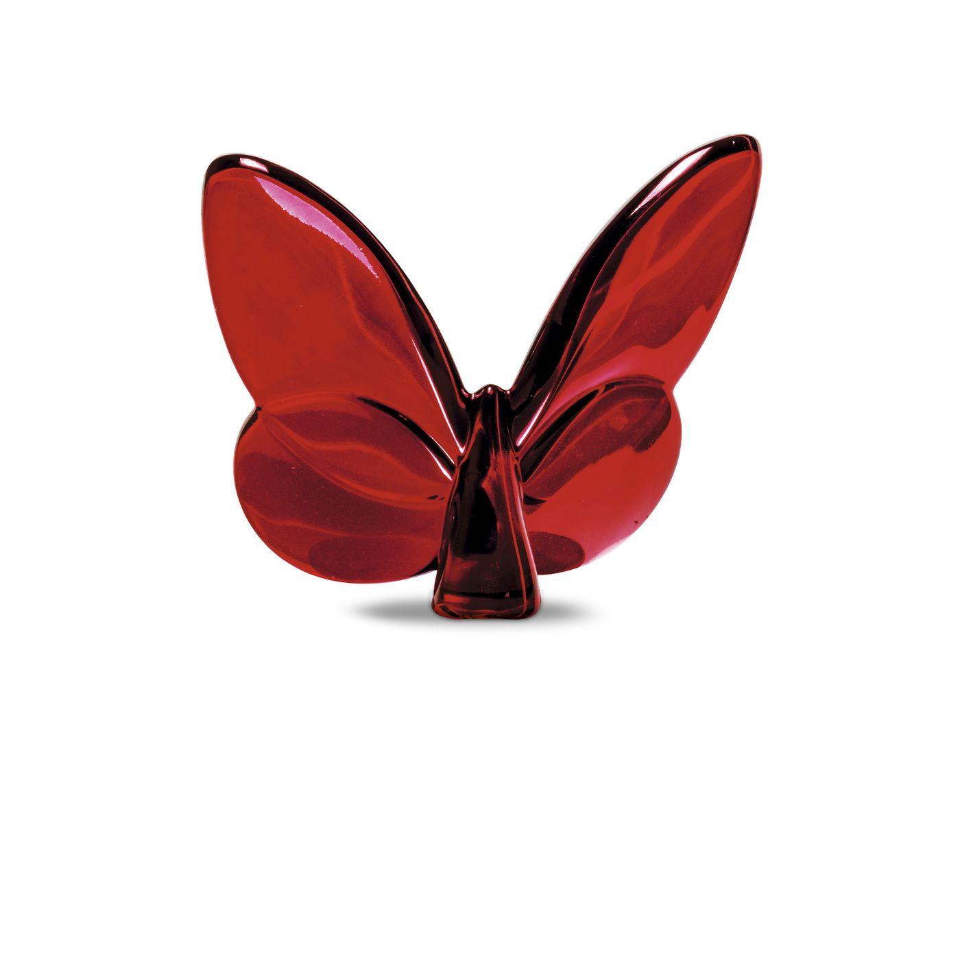 Farfalla baccarat argenteria dabbene milano liste for Miroir rouge