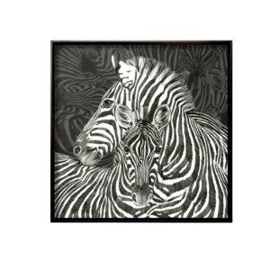 Tray Wild Spirit Zebre