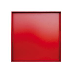 Vassoio Monocolor Rosso
